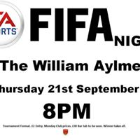 Fifa Night At The WIlliam Aylmer
