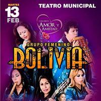 Concierto al AMOR Y La Amistad GRUPO Femenino Bolivia.
