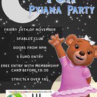 TGIF Pyjama Party