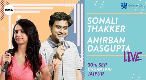 Sonali ThakkarAnirban Dasgupta Live in Jaipur