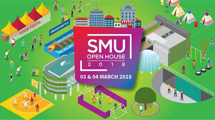 SMU Open House 2018 (3 & 4 Mar)