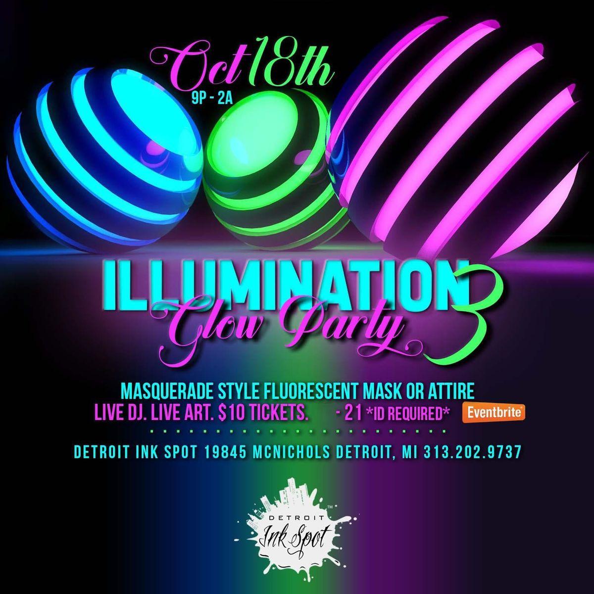 Illumination Glow Party at 19845 W McNichols Rd, Detroit