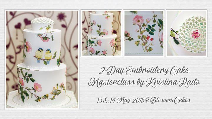 2-Day Embroidery Cake Masterclass by Kristina Rado
