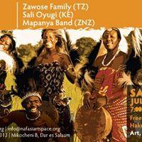 July Wikiendi Live - Zawose Family Sali Oyugi and Mapanya Band