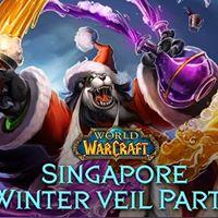 World of Warcraft Singapore Winter Veil Party