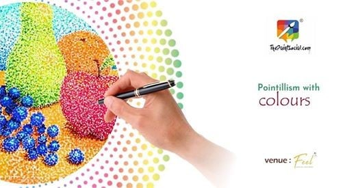 Pointillism with Colours  Surat