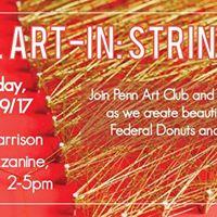 April Art-In String Art