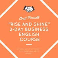 Rise and Shine- 2-Day Business English Course