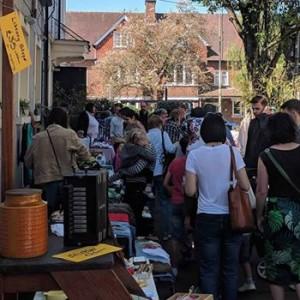 July Magdalen Flea Market