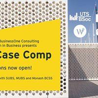 UTS BSoc x B1 x WIB x EY Presents EY Case Competition 2017
