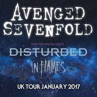 Avenged Sevenfold UK Tour 2017