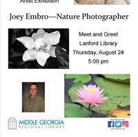 Joey Embro Nature Photographer