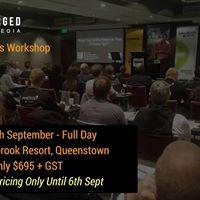 Google Analytics Workshop 28th September 2017 Queenstown