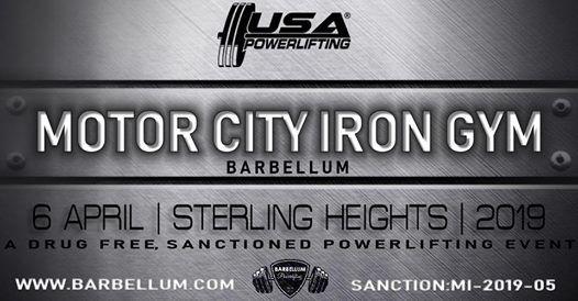 2019 Motor City Iron Gym BarBellum