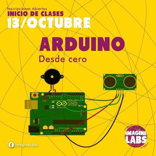Curso Arduino desde cero at Imagine LabsLa Oroya 102 Urb  San Martín