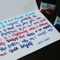 Modern Brush Lettering (Valentines Day)