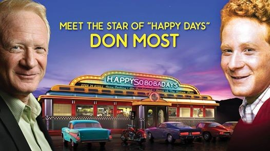 Meet the star of happy days don most at soboba casino california m4hsunfo