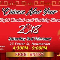 Technicolour Chinese New Year Night Market and Variety Show