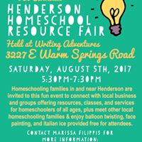 Free Henderson Homeschool Resource Fair