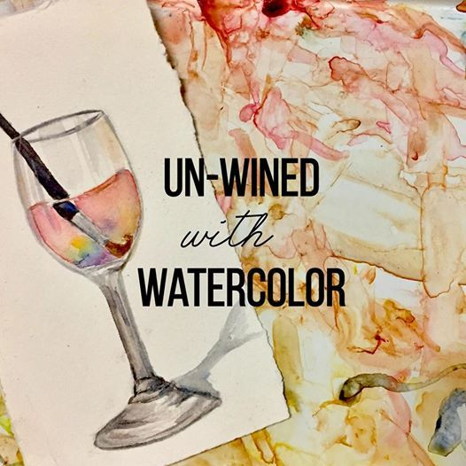 Un-Wined with Watercolor