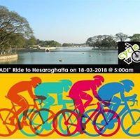 Ugadi Ride to Hesaraghatta