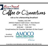 Coffee &amp Connections Networking Breakfast