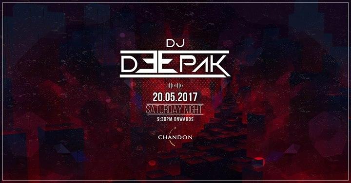 DJ Deepak at Farzi Cafe!   Bangalore
