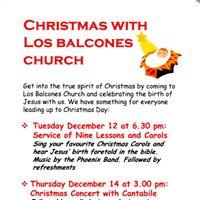 Christmas With Los Balcones Church