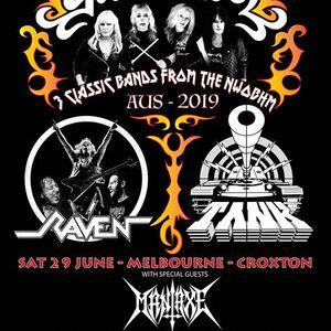 Girlschool  Raven  Tank - Melbourne - Croxton