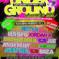 Underground UV Party At Mint Nightclub