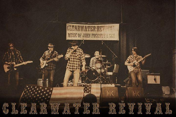 4 Wohnzimmerkonzert Clearwater Revival