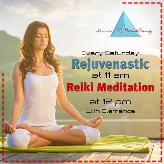 Rejuvenastic & Reiki Meditation With Clem