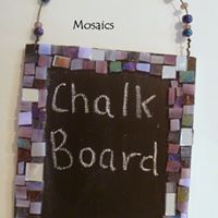Just for Kids Mosaic Chalk Board