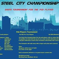 Steel city Championship darts tournament