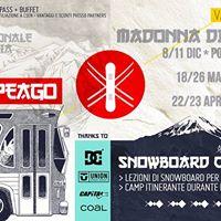 Pampeago - Snowboard &amp Ski Winter Tour