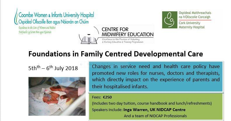 Foundation in Family Centred Development Care (2 day Programme)