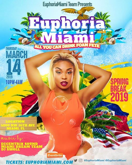 Euphoriamiami spring break