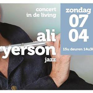 Concert in de living Ali Ryerson