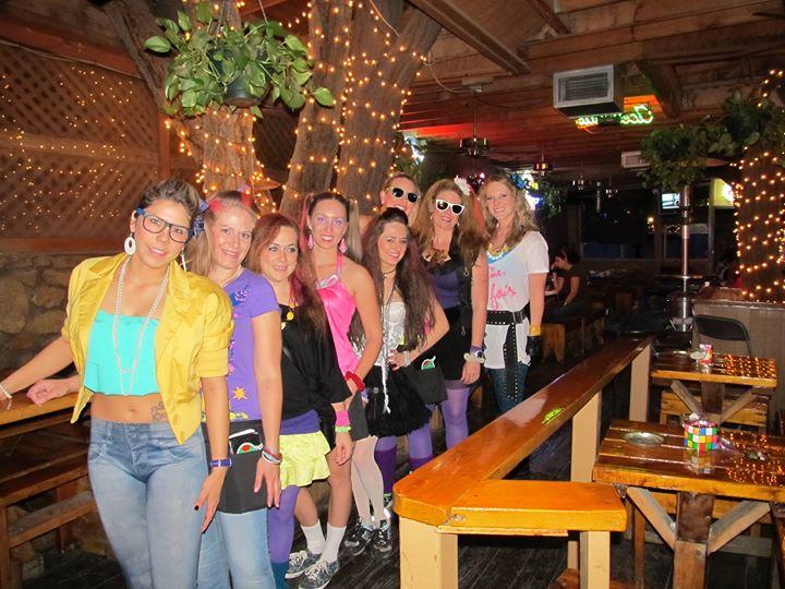 6th annual 80s party - The Garden El Paso