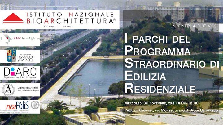 I parchi del programma straordinario di edilizia for Studi di architettura napoli