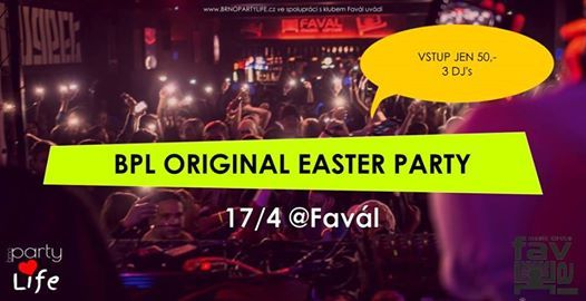BPL Original easter party Favl