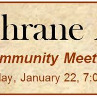 Cochrane Arts Community Meeting