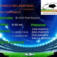 Torneo Relampago Femenino &quotMEGA Futbol&quot
