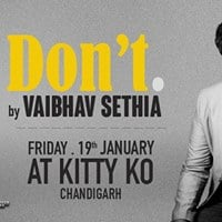 Dont - A Stand up comedy act by Vaibhav Sethia
