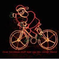 Korte kerstlichtjes stadsrit (- 30km)