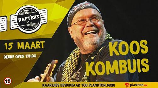 Koos Kombuis - Rafters - Pretoria