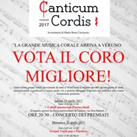 Concorso Nazionale Corale &quotCanticum Cordis&quot