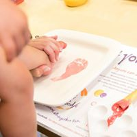 Baby Print Party &quotLove Feet&quot