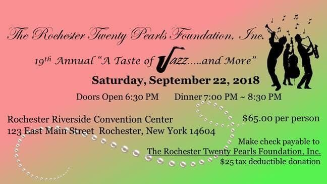 Taste Of Jazz 2018 At Joseph A Floreano Riverside Convention Center Rochester