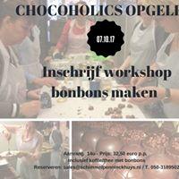 Inschrijf workshop bonbons maken